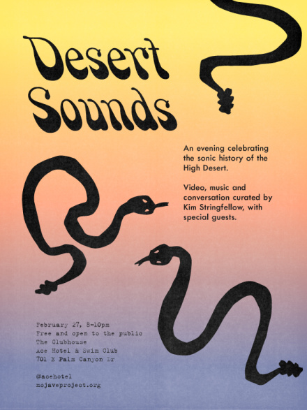 Desert Sounds invite